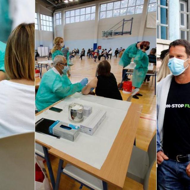 Masovno cijepljenje u Makarskoj