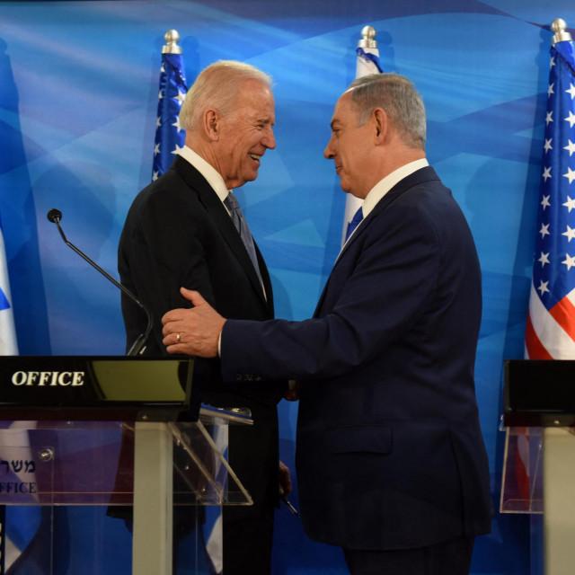 Joe Biden i Israeli Benjamin Netanyahu