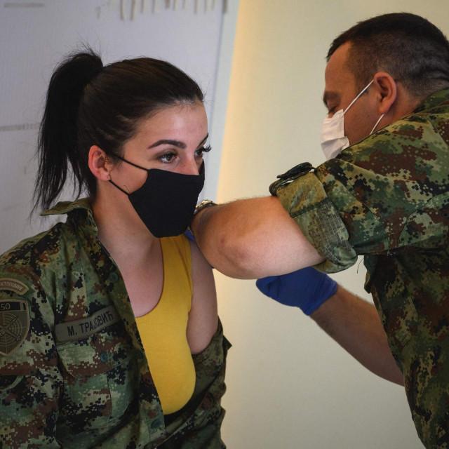 Cijepljenje vojske