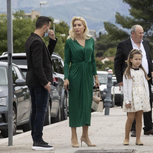 Željko Kerum sa suprugom Fani i djecom