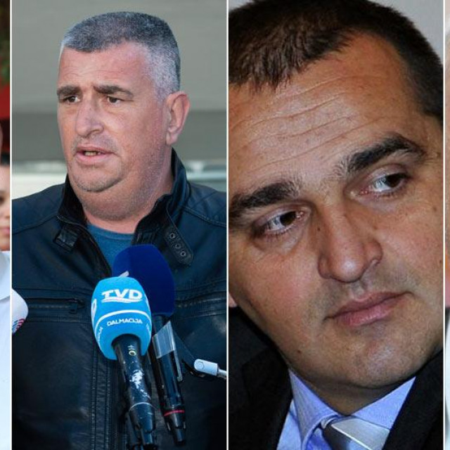 Damir Kajin, Miro Bulj, Damir Juzbašić, Vinko Grgić