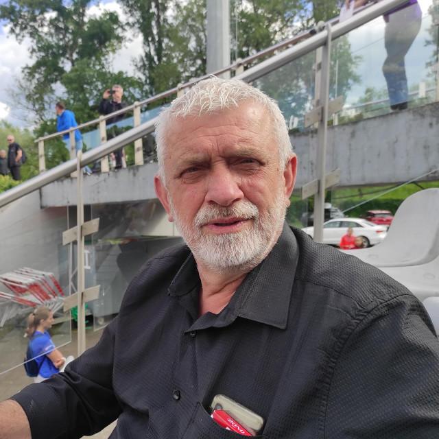 Dragan Zdravković minule subote na atletskom stadionu Mladosti uz savu, u Zagrebu tijekom mitinga Dinamo Zrinjevac