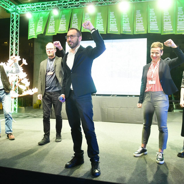 Izborni stožer Tomislava Tomaševića i platforme Možemo!