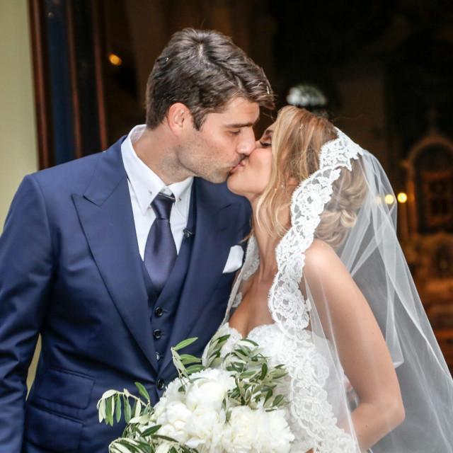 Vedran Ćorluka i Franka Batelić vjenčali su se 2018. godine