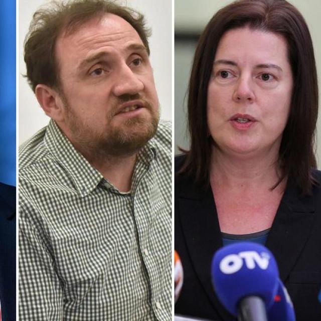 Danijela Dolenec, Teodor Celakoski, Marijana Sumpor i Luka Korlaet