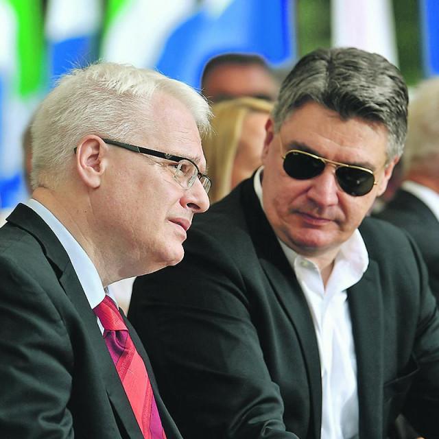 Ivo Josipović i Zoran Milanović