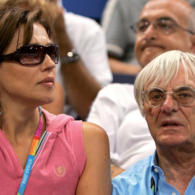 Bernie Ecclestone i njegova bivša supruga Slavica
