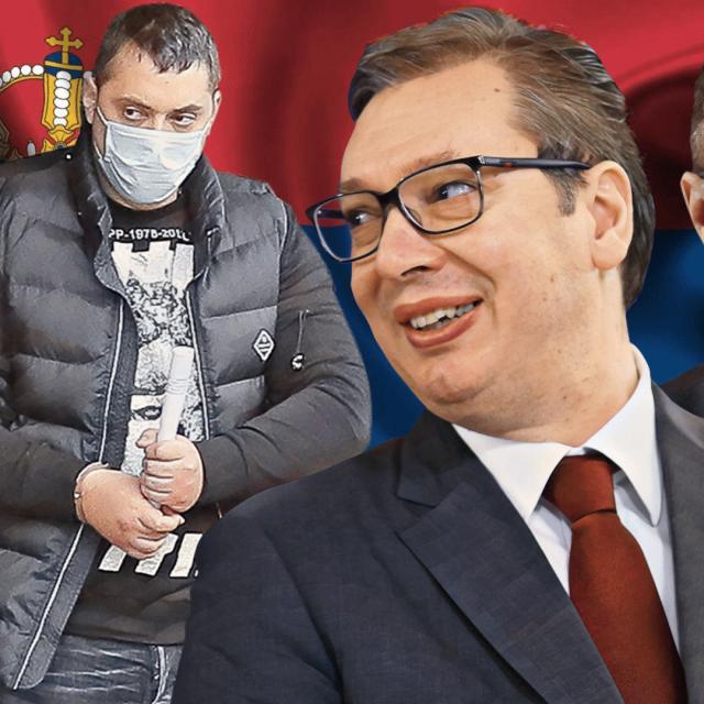 Veljko Belivuk zvani Velja Nevolja, Aleksandar Vučić i Nebojša Stefanović