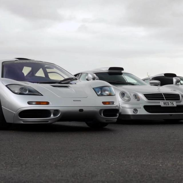 McLaren, Porsche, Mercedes