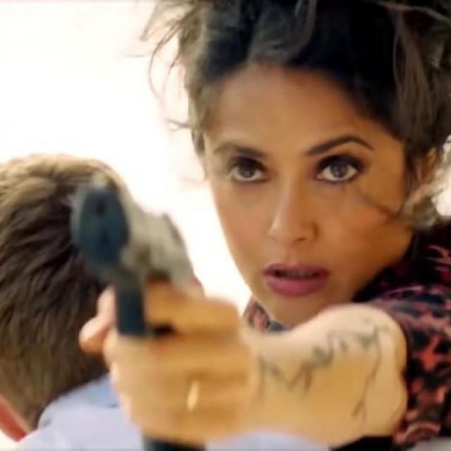 Salma Hayek, scena iz filmaThe Hitman's Wife's Bodyguard