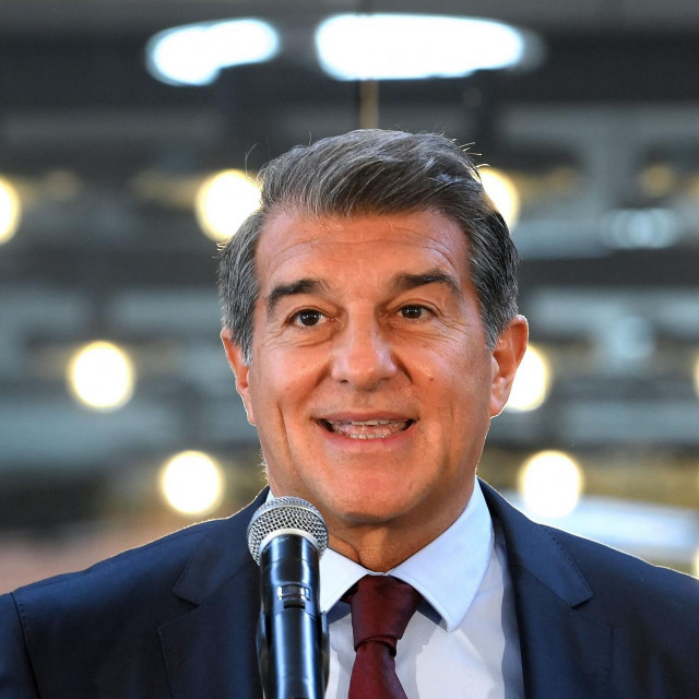 Predsjednik Barcelone Joan Laporta