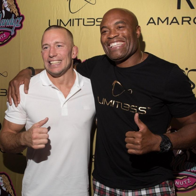 Anderson Silva i Georges St-Pierre