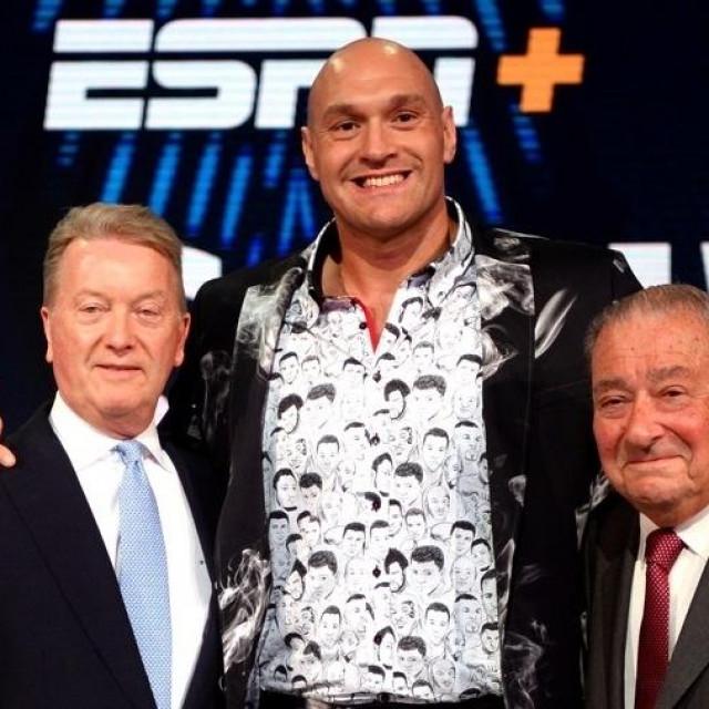 Frank Warren, Tyson Fury i Bob Arum