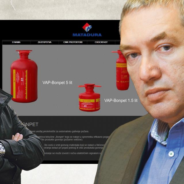 Damjan Krklec, ilustracija protupožarnih aparata i Dragan Kovačević
