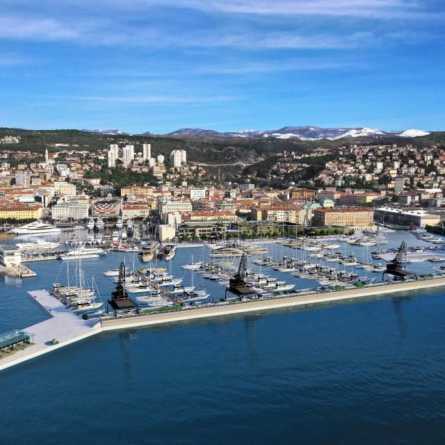 Luka nautičkog turizma Porto Baroš u Rijeci
