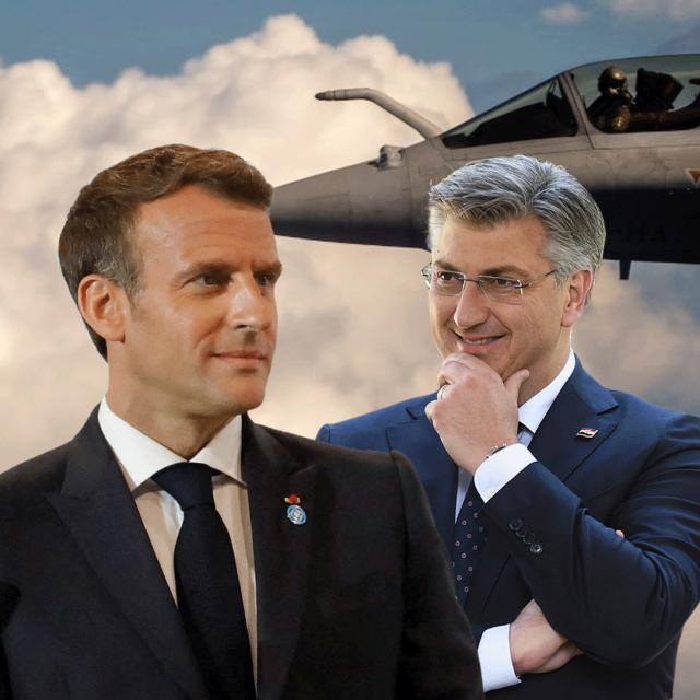 Macron, Plenković