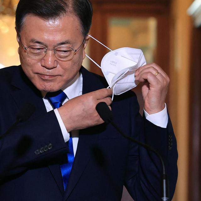Moon Jae-in u Capitol Hillu