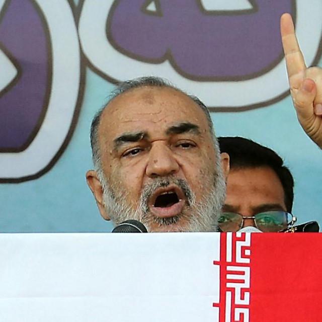 zapovjednik Revolucionarne garde, general Hossein Salami