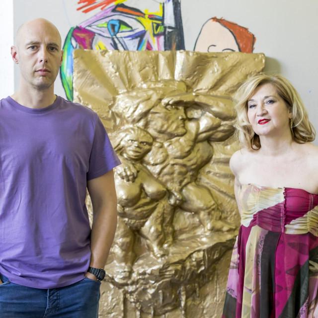 Ivan Fijolić i Mirjana Dugandžija