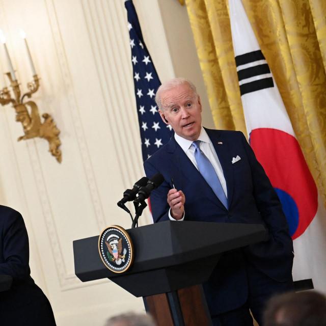 Joe Biden i Moon Jae-in