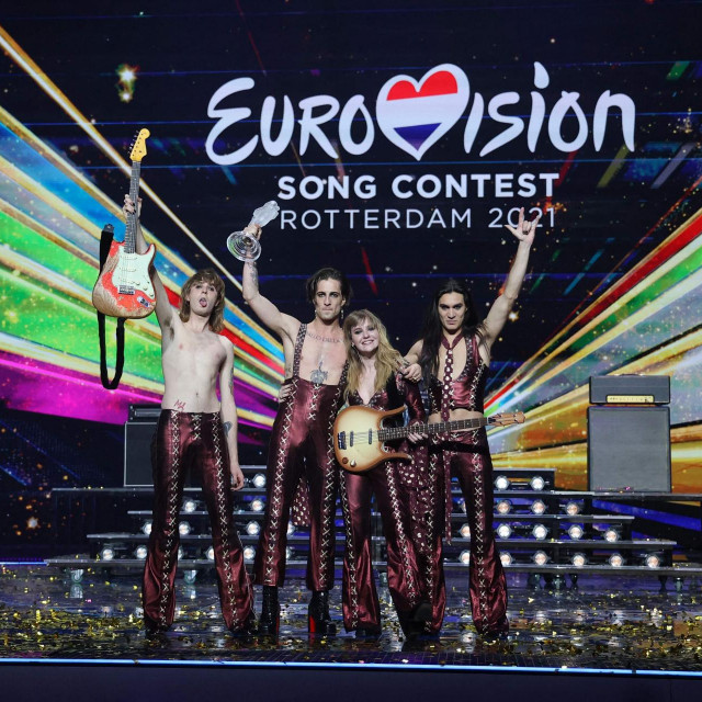 Maneskin, Italija - pobjednici Eurosonga