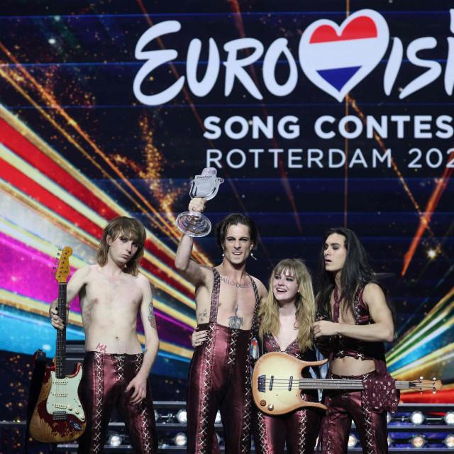 Predstavnici Italije, rock grupa Måneskin, pobjednici su Eurosonga