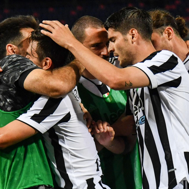 Slavlje igrača Juventusa