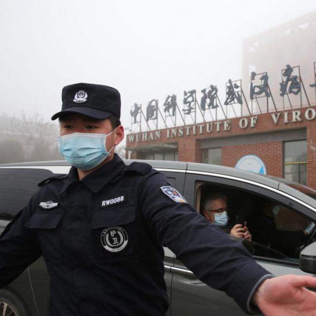 Institut za virologiju u kineskom gradu Wuhanu