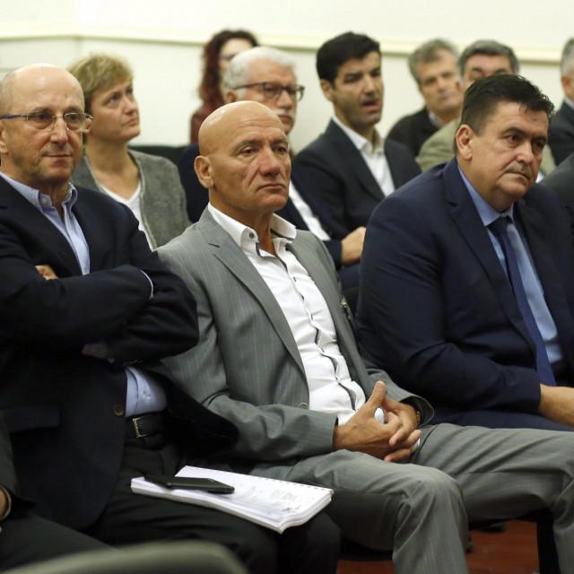 Slobodan Ljubičić, Petar Pripuz, Ivan Tolić i Miljenko Benko