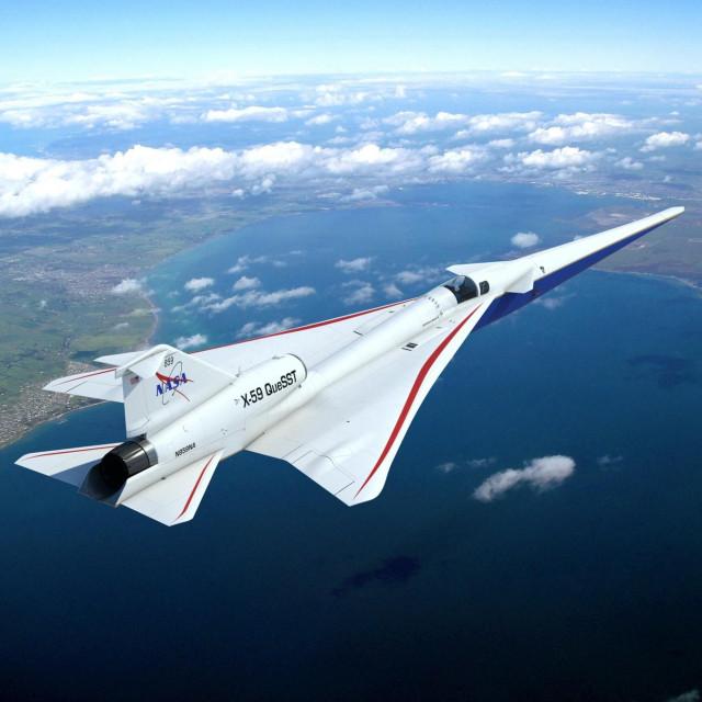 Render aviona X59