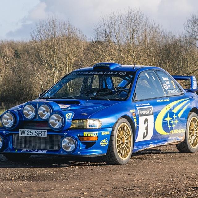 Subaru Impreza S6 WRC