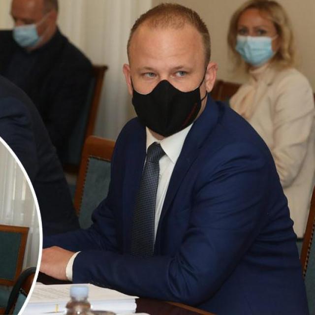 Odbor za pravosuđe, Zlata Đurđević (u krugu)