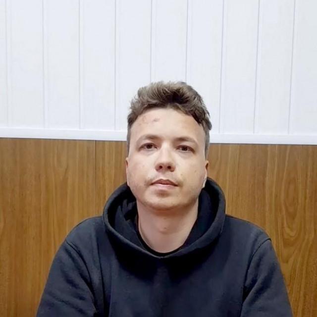 Roman Protaševič, uhićeni bjeloruski oporbeni novinar