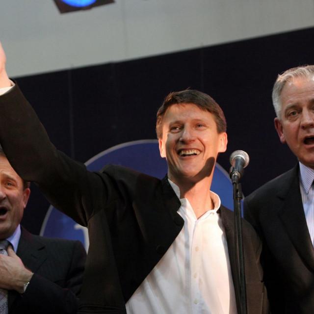 Tomislav Bralić i Ivo Sanader