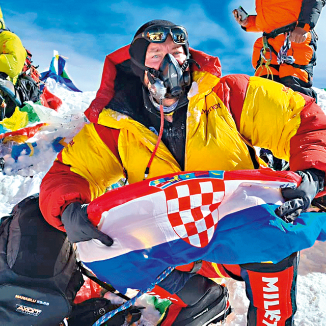 Mario Celinić popeo se na Mount Everest
