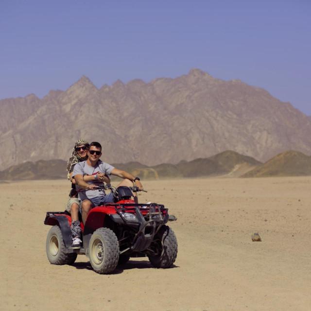 Slaven Škrobot s prijateljem u Egiptu