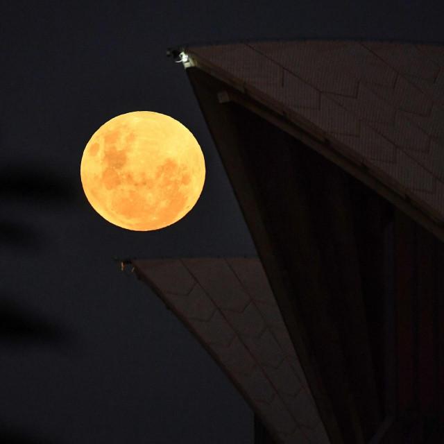 Mjesec iznad Sydneyja