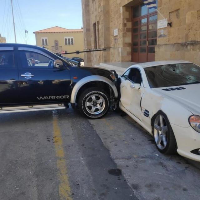 Razbio Mercedes šefu policije