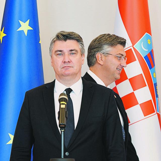 Zoran Milanović i Andrej Plenković, arhivska fotografija