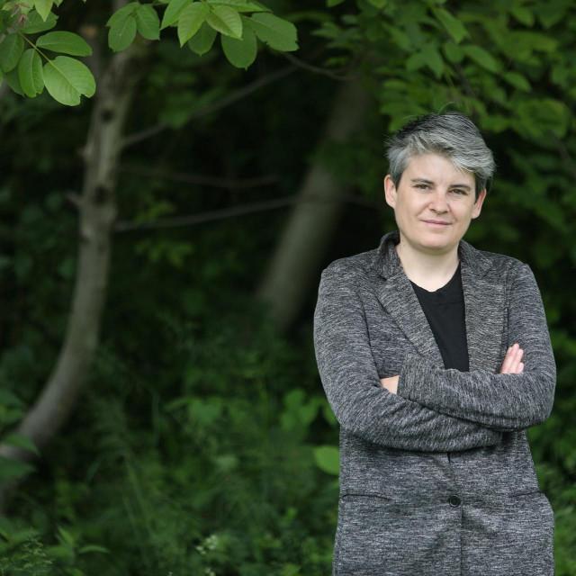 Knjizevnica Antonela Marusic aka Nora Verde.<br />