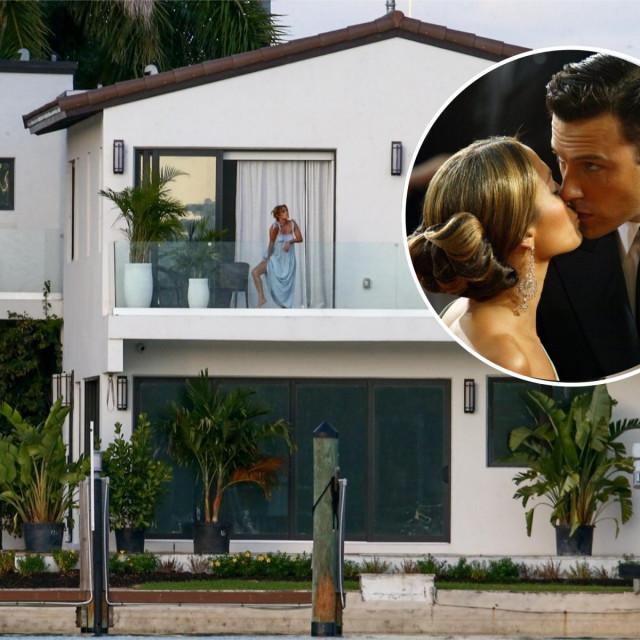 Vila na obali u kojoj borave J. Lo i Ben Affleck