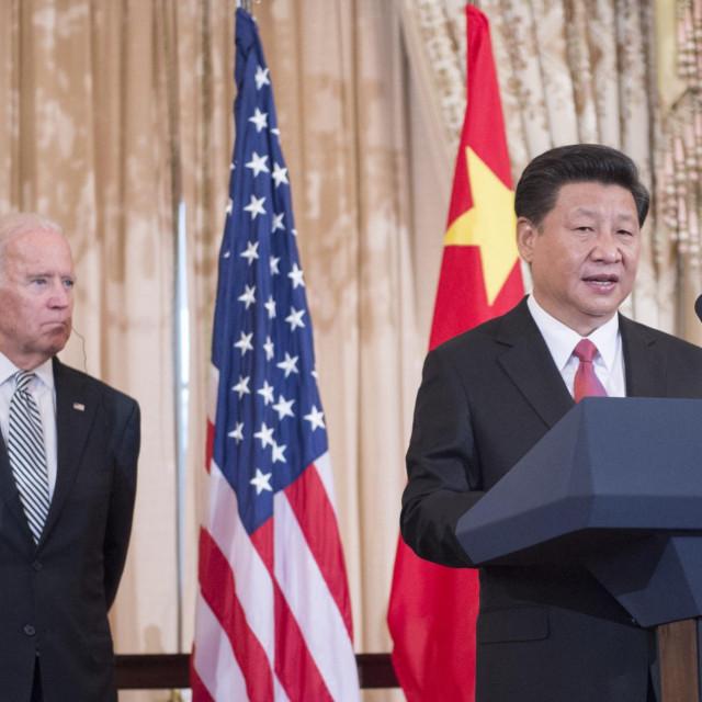 Joe Biden i Xi Jinping