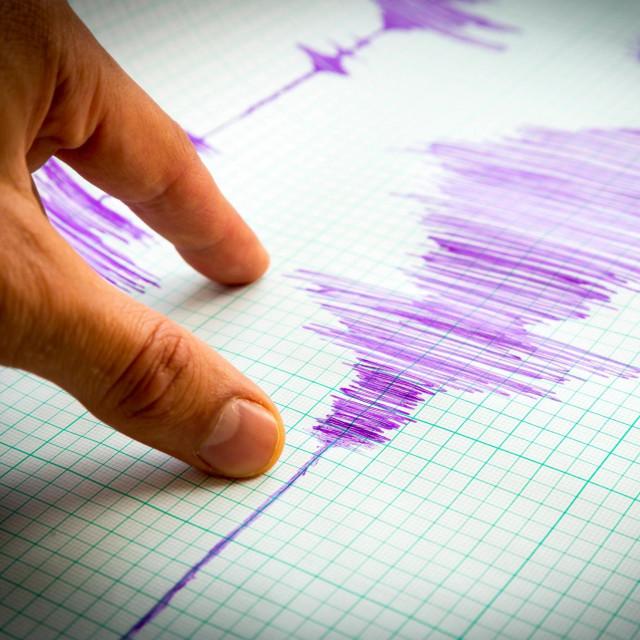 Potres, ilustracija