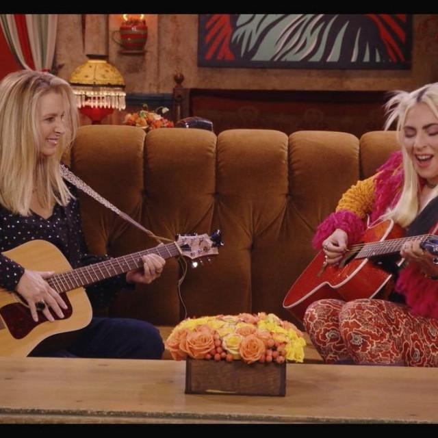Lisa Kudrow i Lady Gaga