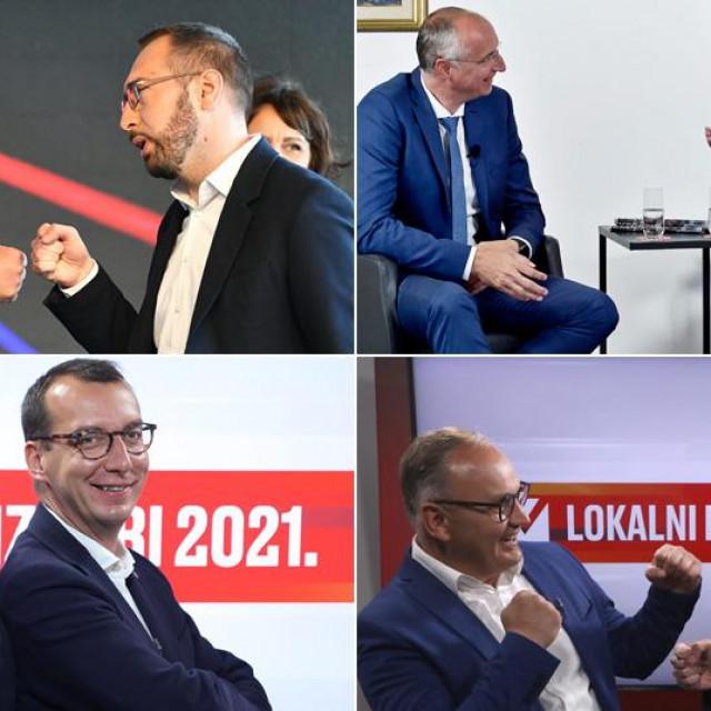Kandidati u drugom krugu u najvećim gradovima