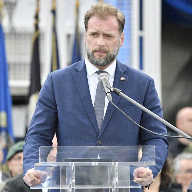 Ministar obrane RH Mario Banožić