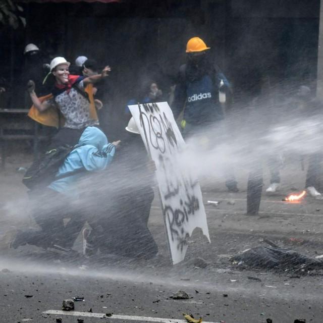 Nasilni prosvjedi u Kolumbiji