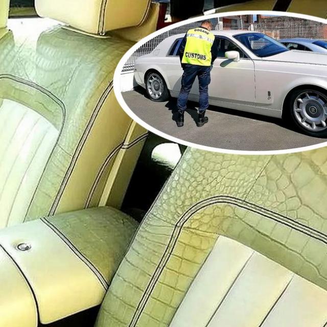 Zaplijenjeni Rolls-Royce