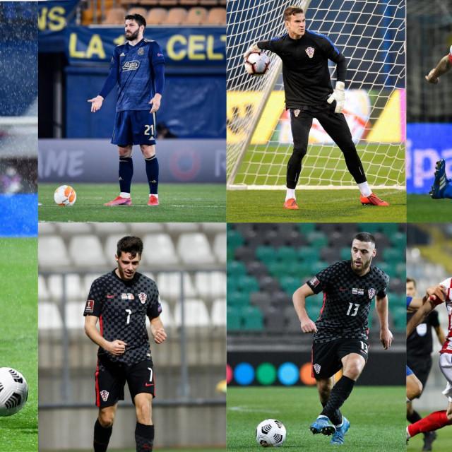 Vatreni tate: Duje Ćaleta-Car, Bruno Petković, Simon Sluga, Mateo Kovačić, Josip Brekalo, Nikola Vlašić, Ante Budimir