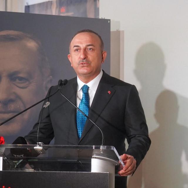Turski ministar vanjskih poslova Mevlüt Çavusoglu